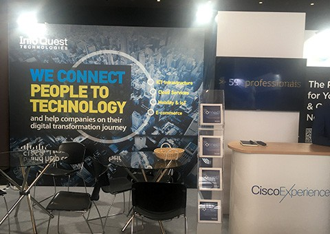 H Ιnfo Quest Technologies στη Cisco Experience 2019