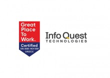 Info Quest Technologies has obtained the Great Place to Work® Certification